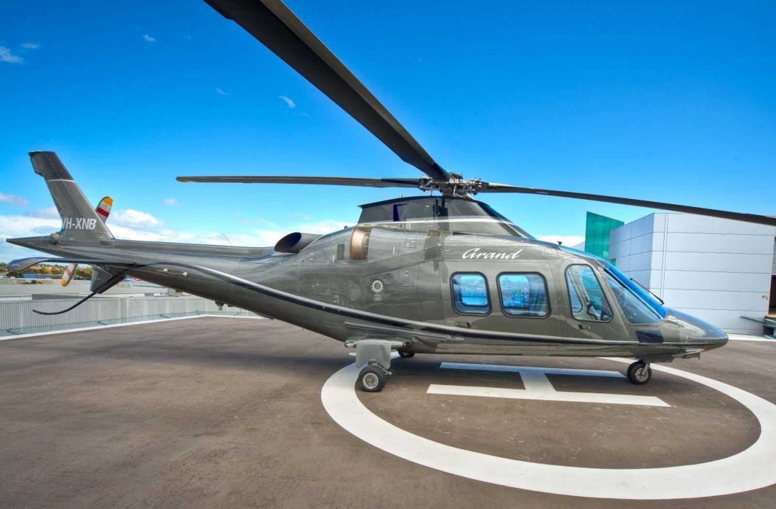 Agusta Westland 109 Helicopter