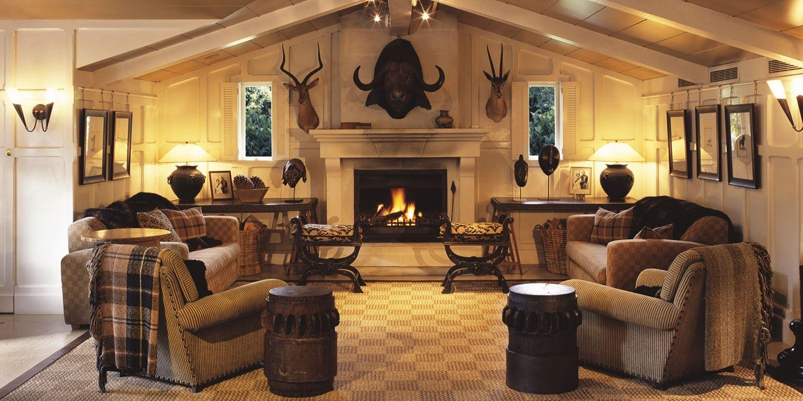 Huka Lodge Trophy-room