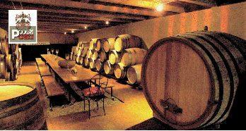 Poderi Crisci barrels Cellar