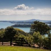 Te Whau Lodge view from lodge