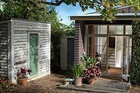 The Boatshed Bungalows Entrance