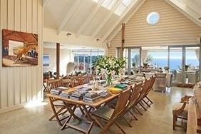 The Boatshed Main Dining Hall