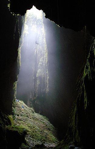 Waitomo Abseiling