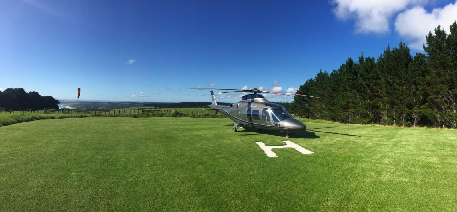 Agusta at Kauri Cliffs
