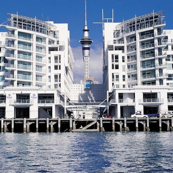 Hilton Auckland Front On1