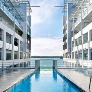 Hilton Auckland Swimming Pool1