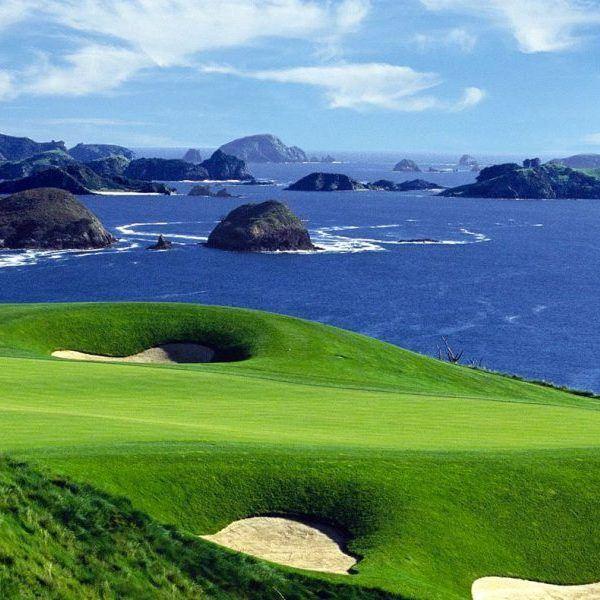 Kauri Cliffs Golf Course New Zealand