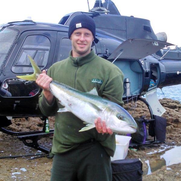 Kingfish 2014 helifishing