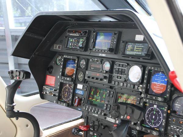Agusta Cockpit