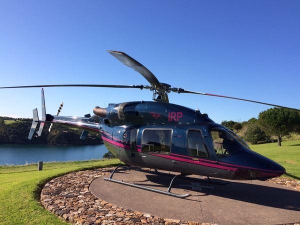 Bell 427 on Waiheke Island