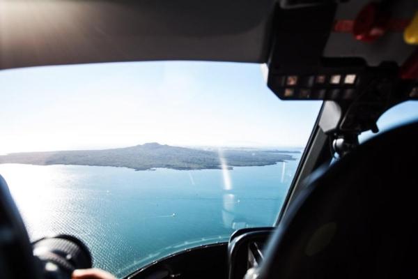Rangitoto Island view