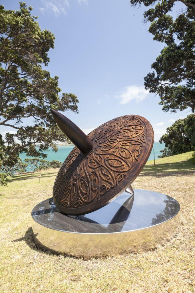 Chopper to Waiheke's Headland Sculpture on the Gulf