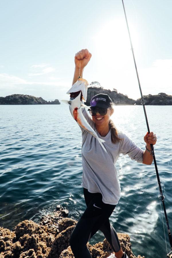 Heli-Fishing Great Barrier Island