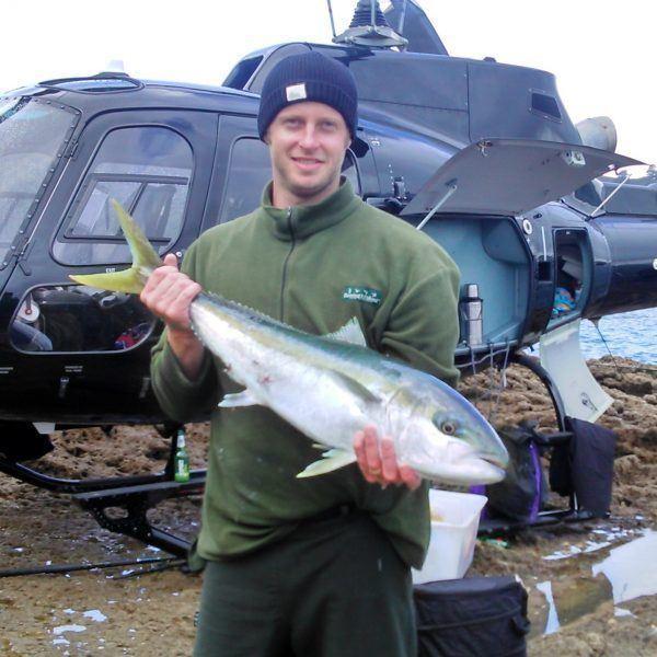 Kingfish Heli-Fishing