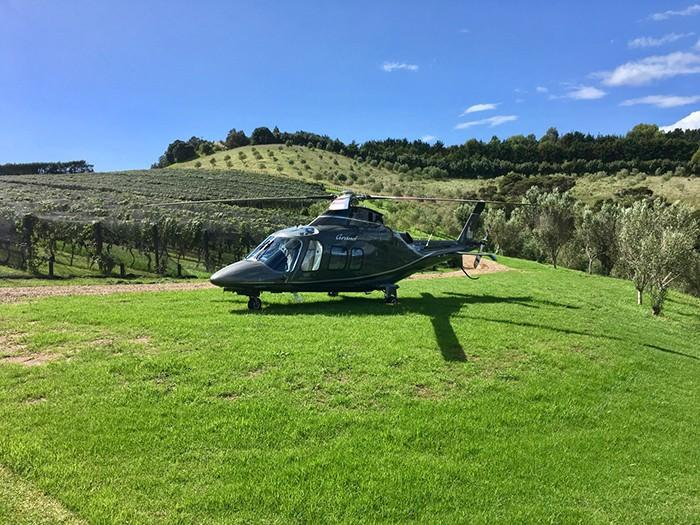 Agusta at Tantalus Estate Waiheke Island