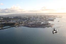 Heletranz Helicopters - Scenic flight over Auckland City